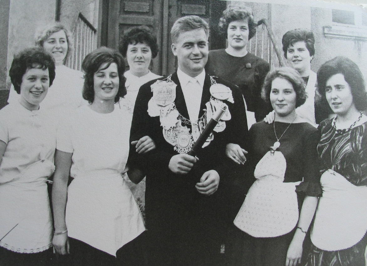 Brötchesmädchen 1963: König: Norbert Muth Foto: Thomas Schaaf