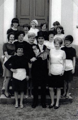 Brötchesmädchen 1967: König: Wilfried Winand Foto: Dominik Knieps