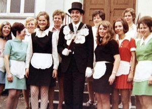 Brötchesmädchen 1970: König:Günter Görgen Foto:Thomas Schaaf