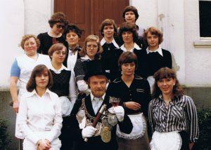 Brötchesmädchen 1977: König:Karl-Josef Scholl Foto:Karl-Josef Scholl