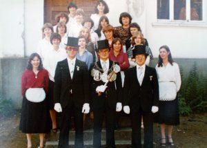 Brötchesmädchen 1979: König Erich Althammer Foto: Thomas Schaaf