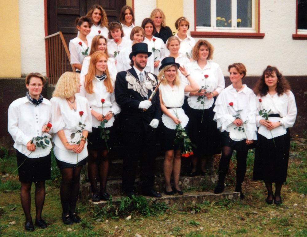 Brötchesmädchen 1995: König:Ralf Münch Foto: Dominik Knieps
