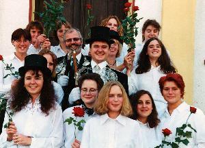 Brötchesmädchen 1996: König:Markus Gansewig Foto: Dominik Knieps