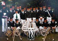 Tambourcorps an Kirmesmontag 1978: Foto:Doris Efferz