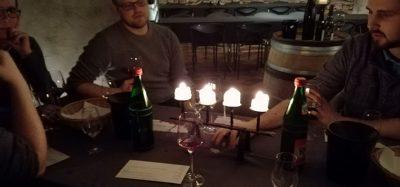 Beim Weingut Georg Breuer in Rüdesheim probierte man sich durch verschiedene Weine. Foto: JSG Lantershofen