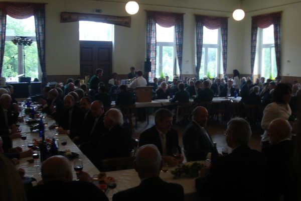 Festkommers am Montagmorgen im Saal des Winzerverein Lantershofen. Foto: JSG Lantershofen