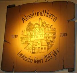 Das Motto der diesjährigen Kappensitzung in Lantershofen. Foto: JSG Lantershofen
