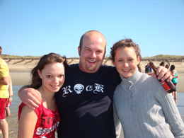 Carina Moitz, Christian Althammer und Anna-Maria Schütz hatten sichtlich viel Spaß. Foto: JSG Lantershofen