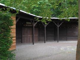 Die Lambertushütte war der Schauplatz. Foto: JSG Lantershofen