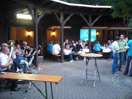 Schauplatz war wieder die Lambertushütte. Foto: JSG Lantershofen