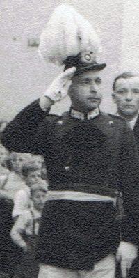 Hauptmann Eduard Schütz. Foto: Helmut Kappen