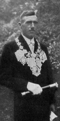 Schützenkönig Franz Mombauer. Foto: Festschrift 1935