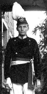Hauptmann Paul Bender. Foto: Marianne Mombauer