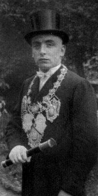 Schützenkönig Jakob Krämer. Foto: Festschrift 1935
