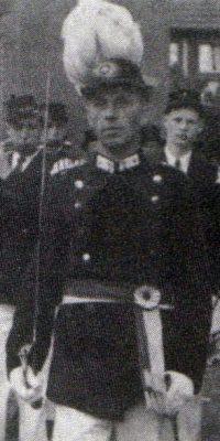 Hauptmann Alfons Bender. Foto: Festschrift 1978