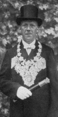 Schützenkönig Anton Fuchs. Foto: Festschrift 1935