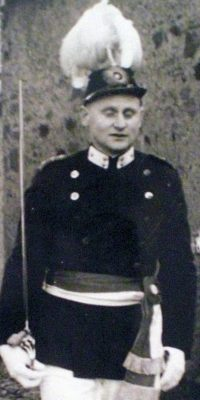 Hauptmann Josef Franken. Foto: Heinz Dünker