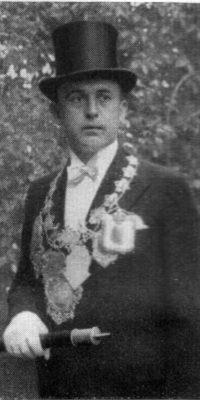 Schützenkönig Alois Krupp. Foto: Festschrift 1935