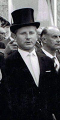 Hauptmann Martin Jüris. Foto: unbekannt