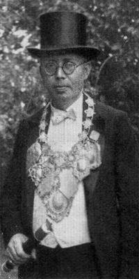 Schützenkönig Adolf Langen. Foto: Festschrift 1934