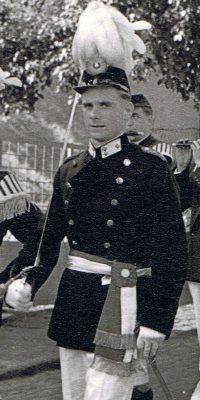 Hauptmann Otto Krämer. Foto: Otto Krämer