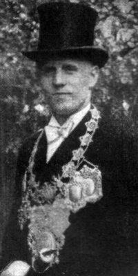 Schützenkönig Richard Klaes. Foto: Festschrift 1934