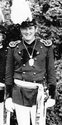 Hauptmann Reinhard Schütz. Foto: Reinhard Schütz