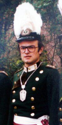 Hauptmann Erich Althammer. Foto: Doris Efferz