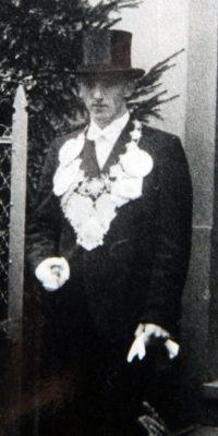 Schützenkönig Lorenz Schneider. Foto: Thomas Schaaf