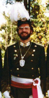 Hauptmann Heinz Schütz. Foto: Heinz Schütz