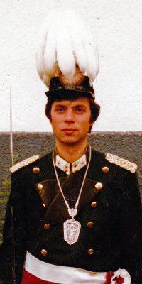 Hauptmann Rolf Franzen. Foto: Rolf Franzen