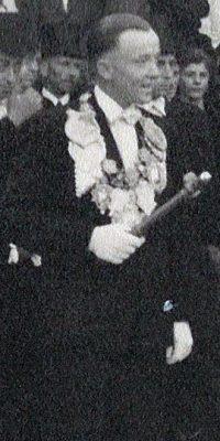 Schützenkönig Herbert Hergarten. Foto: Sven Krämer