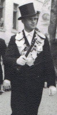 Schützenkönig Alois Franzen. Foto: Helmut Kappen