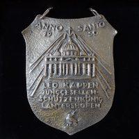 Königsschild von Leo Kappen. Foto: Robin Grießel