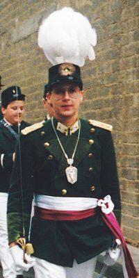 Hauptmann Peter-Josef Schütz. Foto: Peter-Josef Schütz