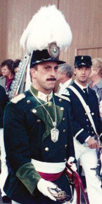 Hauptmann Uli Ley. Foto: Peter-Josef Schütz
