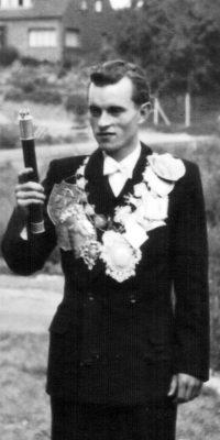 Schützenkönig Horst Schierack. Foto: Thomas Schaaf