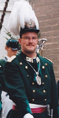 Hauptmann Michael Huff. Foto: Stefan Fabritius