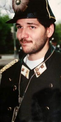 Hauptmann Werner Braun. Foto: Uli Ley