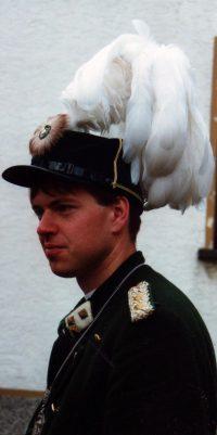 Hauptmann Jörg Bender. Foto: unbekannt