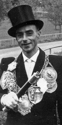 Schützenkönig Heinz Ley. Foto: Marianne Mombauer