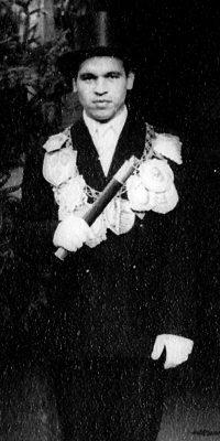 Schützenkönig Josef Drodten. Foto: Marianne Mombauer