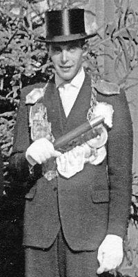 Schützenkönig Walter Mombauer. Foto: Marianne Mombauer