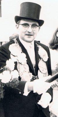 Schützenkönig Bruno Winand. Foto: Otto Krämer