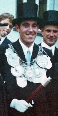 Schützenkönig Günter Görgen. Foto: Doris Efferz