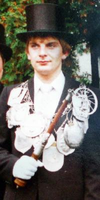 Schützenkönig Klaus-Peter Efferz. Foto: Doris Efferz