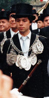 Schützenkönig Rolf Franzen. Foto: Rolf Franzen