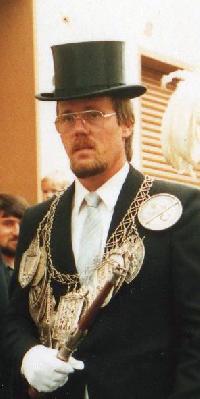 Schützenkönig Werner Assenamcher. Foto: Werner Assenmacher