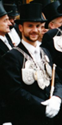 Schützenkönig Helmut Kuttig. Foto: Helmut Kuttig