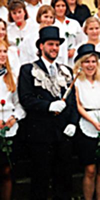Schützenkönig Ralf Münch. Foto: Dominik Knieps